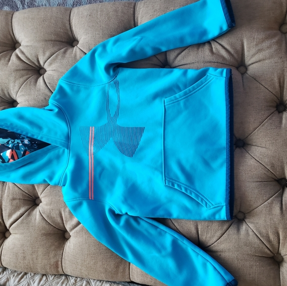 Under Armour Other - Boys Under Armour blue and orange hoodie